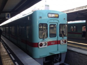 12-天満宮行電車