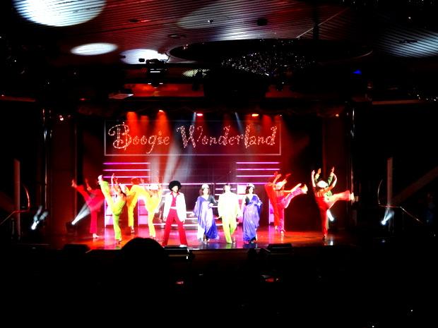 最終日のダンスショー